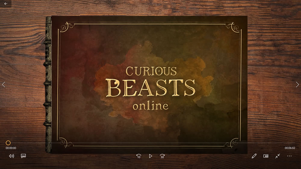 Curious Beasts Online front page